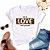 Tshirt Feminina Atacado BE IN LOVE  - TUMBLR - Imagem 1