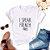 Tshirt Feminina Atacado I SPEAK FRENCH FRIES  - TUMBLR - Imagem 1