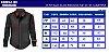 KIT COM 2 PEÇAS - 1 Camisa Slim Fit Social Executiva (Em 3 Cores) + Malha Henley Canelado CINZA - Imagem 5