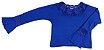 Blusa com Renda em Viscose - Azul - Imagem 2