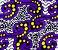 Turbante em tecido africano - Catumbela Roxo - Imagem 2