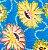 Turbante em tecido africano - Catumbela Azul - Imagem 2