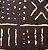 Turbante em tecido africano - Catumbela Bogolafini Marrom  - Imagem 2