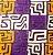 Turbante em tecido africano - Catumbela Kuba colorido - Imagem 2