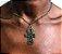 Colar em ouro velho com pingente de cruz Egipcia - Ankh - Imagem 4
