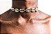 Gargantilha Choker de Búzios dourada - Imagem 2