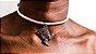 Choker Rosé com pingente da Deusa Nefertiti - Imagem 3