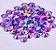 Pedra rivoli  roxo 3,5mm - QUALIDADE MASTER - 30 unidades - Imagem 1