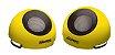 Caixa de Som Maxprint USB - 6W rms - Amarela - Imagem 1