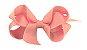 Laço em Gorgurão Royal Style Rosa Claro 7 cm Gumii - Imagem 1
