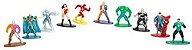 Box 10 Miniaturas Nano Metalfigs Dc Comics - Imagem 2