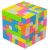 Yisheng Series 7x7x7 Candy Colors Stickerless - Imagem 2