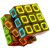 QiYi 3x3x3 Black Stickerless Dimension - Imagem 1