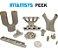 FUNMAT PRO 410 - Impressão de grandes volumes e de materiais funcionais como PEEK, Ultem, PPSU, PEKK, policarbonatos, ABS e outros termoplásticos. - Imagem 7