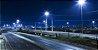 Luminária Publica Pétala Led 100w Cob Branco Frio Postes Rua - Imagem 6