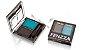 sombra duo cores combinadas Fenzza - C1 preto e azul - Imagem 3