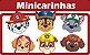 Mini Carinhas Patrulha Canina E.V.A C/06 - Imagem 1