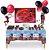 Kit Decoração de Mesa LadyBug + Convite + Descartáveis. - Imagem 1