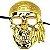 Mascara Caveira Pirata - Imagem 1