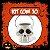Balde Esqueleto / Caveira Halloween Grande | Kit Branco C/10 - Imagem 1