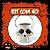Balde Esqueleto / Caveira Halloween Pequeno Kit Branco C/40 - Imagem 1