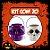 Balde Esqueleto / Caveira Halloween Pequeno Kit Misto C/20 - Imagem 1