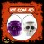 Balde Esqueleto / Caveira Halloween Pequeno Kit Misto C/40 - Imagem 1