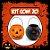 Balde Abóbora Halloween Pequeno | Kit Misto C/20 - Imagem 1