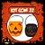 Balde Abóbora Halloween Pequeno | Kit Misto C/22 - Imagem 1