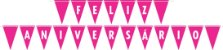 Kit Descartáveis Para Festa   Cor Rosa Pink   P/ 48 Pessoas - Imagem 7