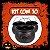 Balde Caldeirão Halloween Grande Kit C/10 - Imagem 1