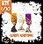 Kit Taça Halloween Média | Cores Sortidas | C/10  - Imagem 1
