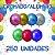 Balão/Bexiga Happy Day Cromado Alumínio N9'' | 250 Unidades - Imagem 1