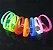 Pulseira com LED Ativação Musical   Cores Sortidas - Imagem 1