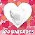 100un. Balão Coração Metalizado | Diversas Cores  - Imagem 3