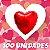 100un. Balão Coração Metalizado | Diversas Cores  - Imagem 1