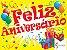 Painel Grande de TNT | Feliz Aniversário - Imagem 1
