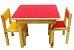 Conjunto de Mesa e Duas Cadeirinhas - Imagem 1