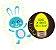 Kit Livrinho de Banho com Miniatura - O Coelhinho Fofo - Imagem 2