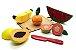 Coleção Comidinhas - Kit Frutas de Corte (5 peças) - Imagem 1