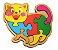 Quebra-Cabeça Animais com Base - Imagem 3