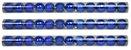 Bola Arvore Natal 3 Cm Tubo 15 Bolas Azul Mista - Imagem 1