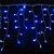 Natal Pisca Cascata Led Azul 200 Lâmpadas 127v - Imagem 1