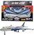 Brinquedo Avião Ultra Airbus Super  New - Imagem 1