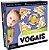 Brinquedo Jogo Brincar de aprender Vogais Didatica New - Imagem 1