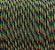 Paracord 550 Black Rainbow - Imagem 1
