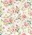 Papel de Parede Floral Romântico - Imagem 1