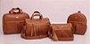 Conjunto de bolsas maternidade - Mamy Chic Marrom - Imagem 1