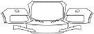 """Película ClearShield de Proteção de Pintura Transparente Super Brilho """"Parachoque Dianteiro"""" Audi Q7 Ano 2011/2018 - Imagem 1"""
