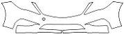 """Película ClearShield de Proteção de Pintura Transparente Super Brilho """"Kit Parachoque Dianteiro / Parachoque Traseiro / Paralamas Parciais / Capô Parcial"""" Hyundai Azera - Imagem 2"""